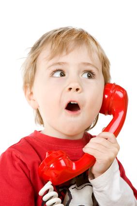 Мама, ты меня слышишь? Я научился говорить! © фото Renee Jansoa / Fotolia